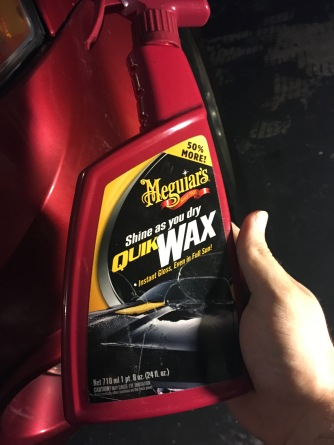 My favorite spray wax